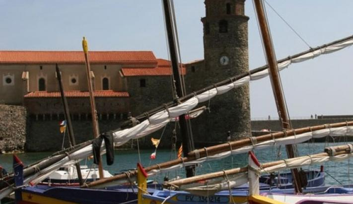 Collioure et barques